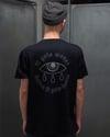 'It Gets Worse...' T-Shirt Schwarz reflektierend