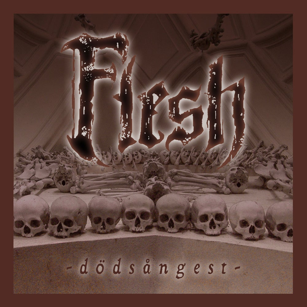 "FLESH ""Dodsangest"" CD"