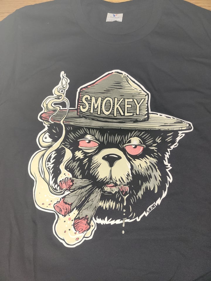Image of 2 MANY BLUNTS SMOKEY T SHIRT (IN STOCK)