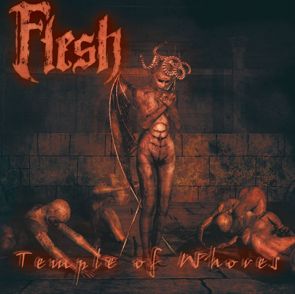 "FLESH ""Temple Of Whores"" CD"