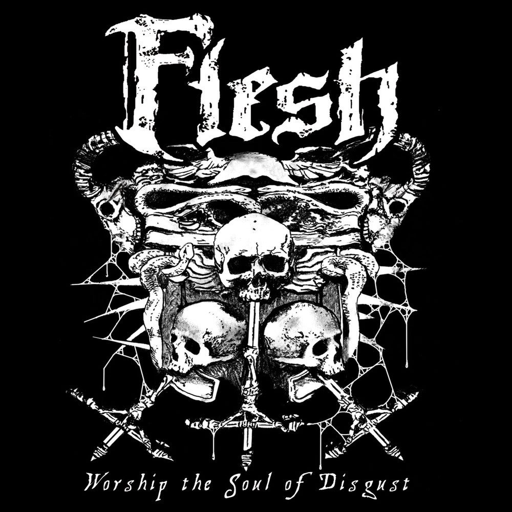 "FLESH ""Worship The Soul Of Disgust"" Super Jewel Box CD"