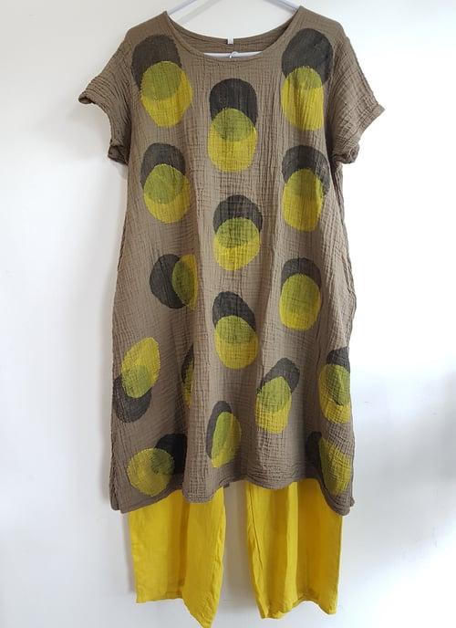 Image of handpainted summer dress