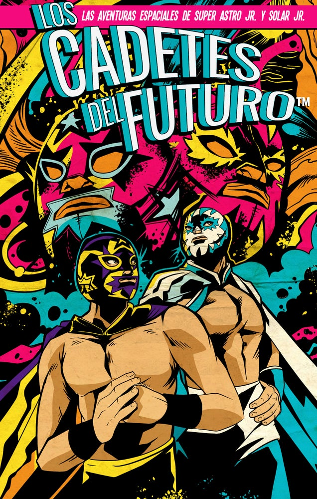 Image of ** LIMITED & NUMBERED ** 1st ever Los Cadetes del Futuro™ Illustration Art Print by Napalm