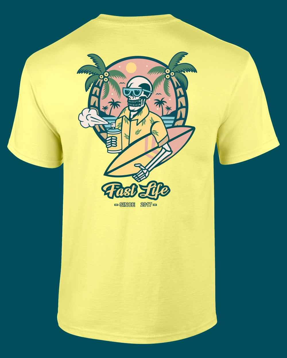 Tee-shirt Summer Vibes 2021 by Fast Life