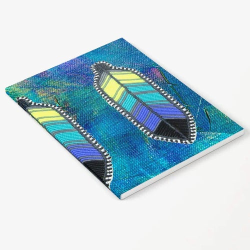 Image of Neon Feathers Journal (2 Pack)