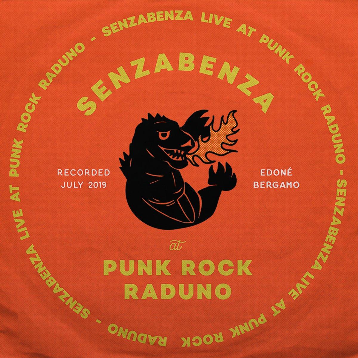 Image of Senzabenza - Live At Punk Rock Raduno Lp