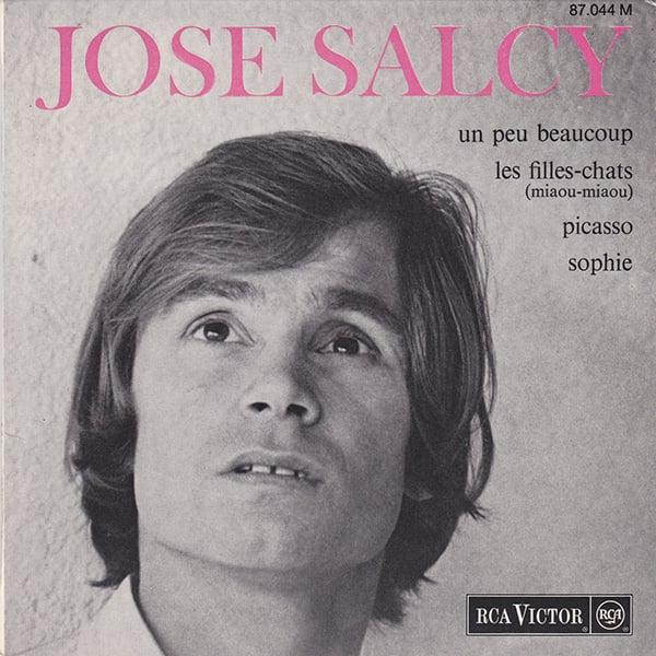 "José Salcy - Les Filles-Chats (Miaou-Miaou) 7"" EP ( RCA Victor - 1967)"