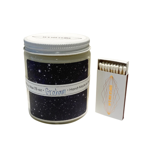 Image of We See Stars Hand Poured Candle: Graham