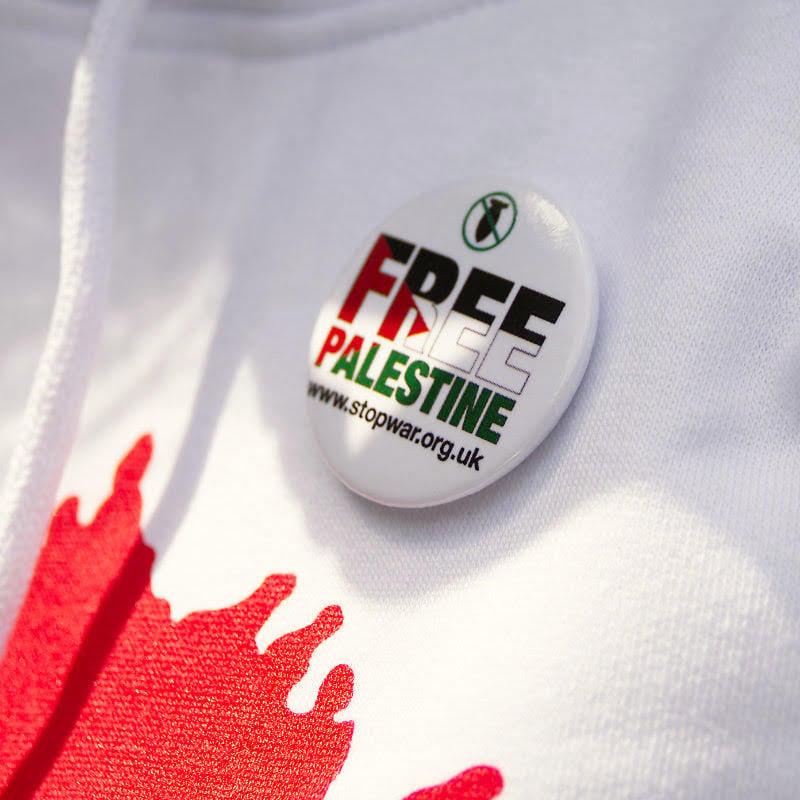 Image of *NEW* Free Palestine Badge