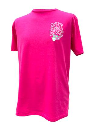 Image of Panther Cross T-shirt - Pink