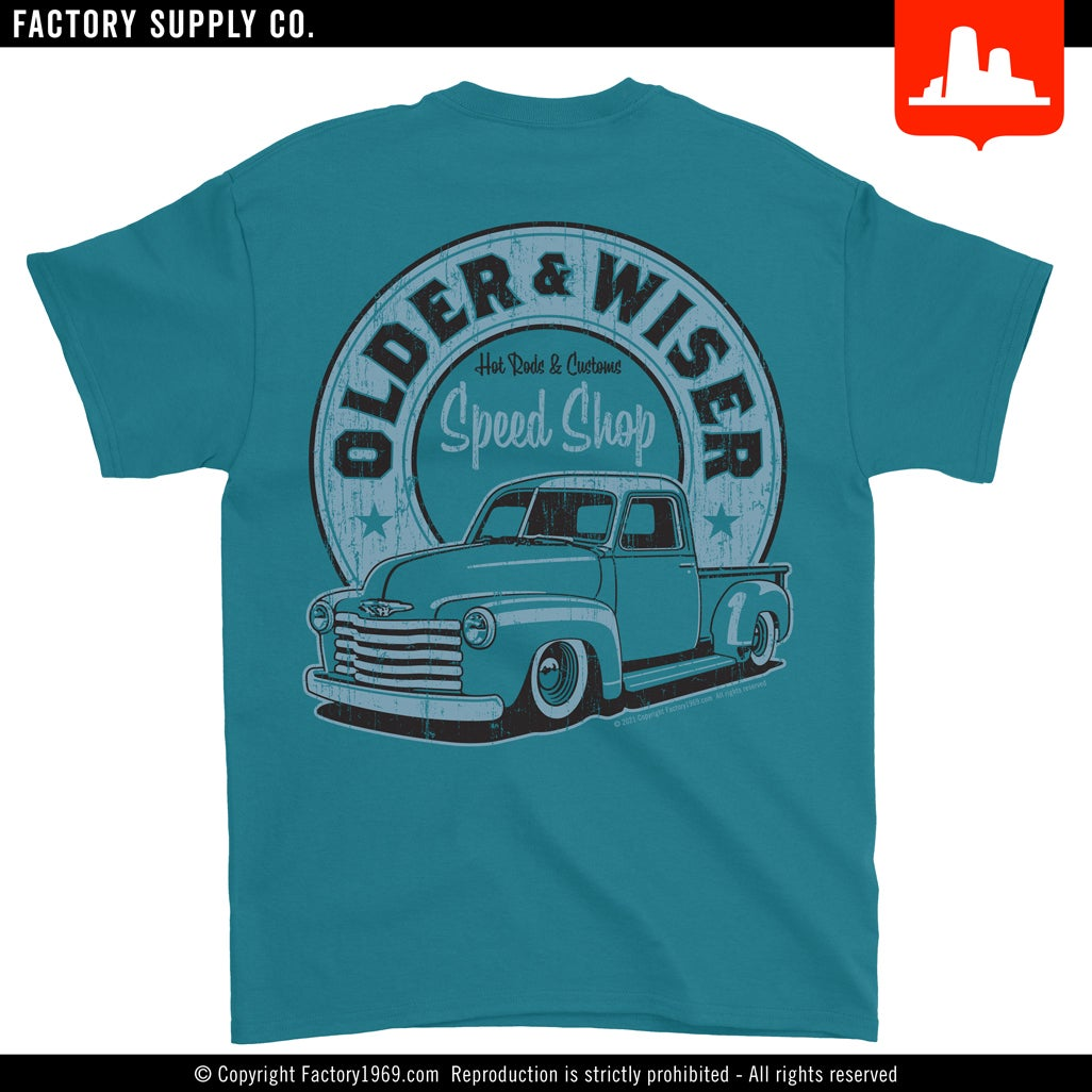 Older & Wiser OW006 - Chevy pick-up