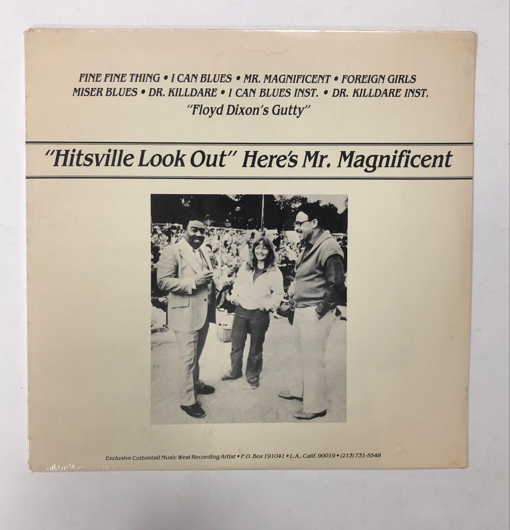 """Floyd Dixon – """"Hitsville Look Out"""" Here's Mr. Magnificent SEALED LP"""