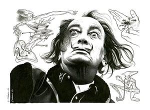Image of SALVADOR DALÍ poster print