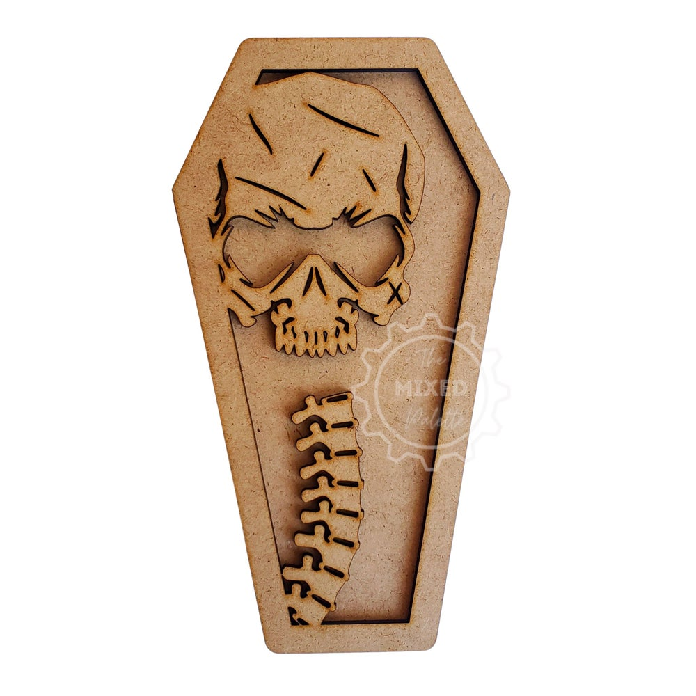 Coffin (interchangable top) of your choice