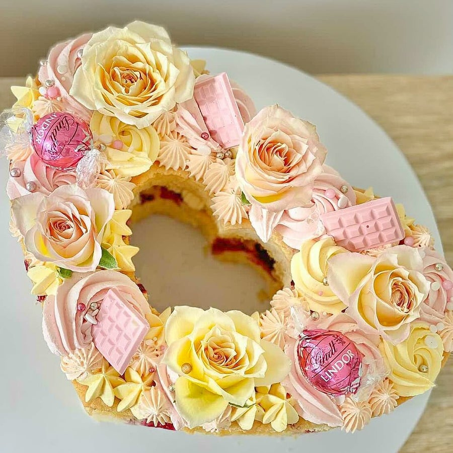 Image of Heart Cake Templates