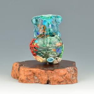 Image of XXXL. Mother Coral Reef Goddess #2 - Flamework Glass Sculpture