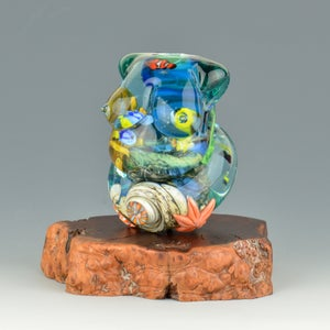 Image of XXXL. Mother Coral Reef Goddess #3 - Flamework Glass Sculpture