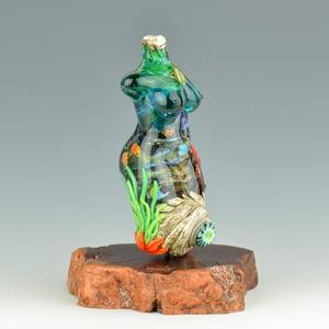 Image of XXXXL. Next Tallest Coral Reef Goddess - Flamework Glass Sculpture