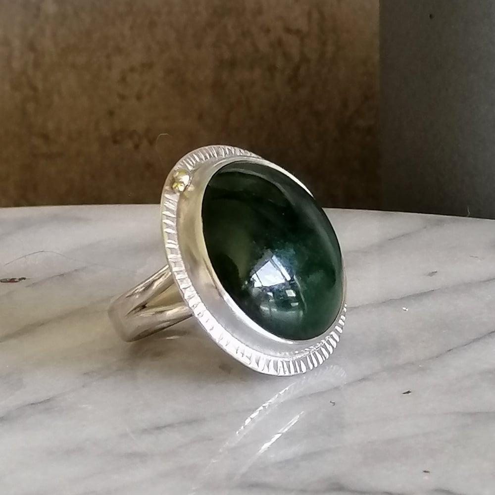 Image of Statement Pounamu Ring