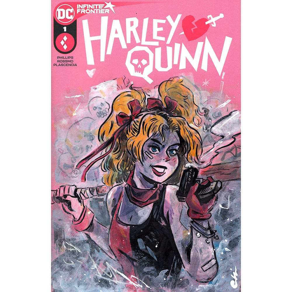 Image of Harley Quinn Sketch Cover