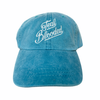 """1 of 1 Teal """"Teal Blooded"""" dad hat"""