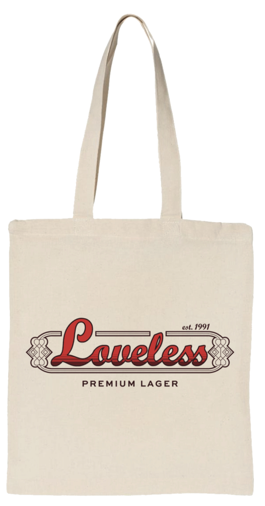 Image of Loveless tote bag