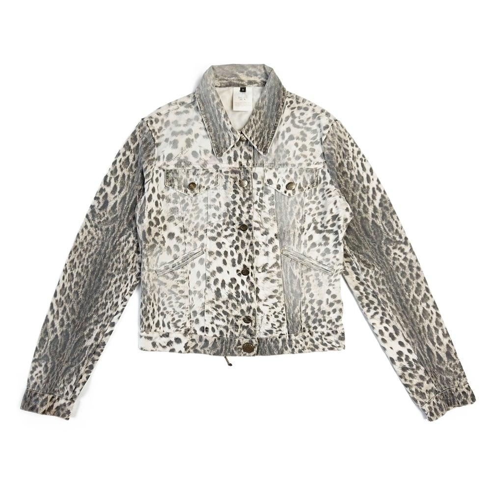 Image of Roberto Cavalli Leopard Print Jacket