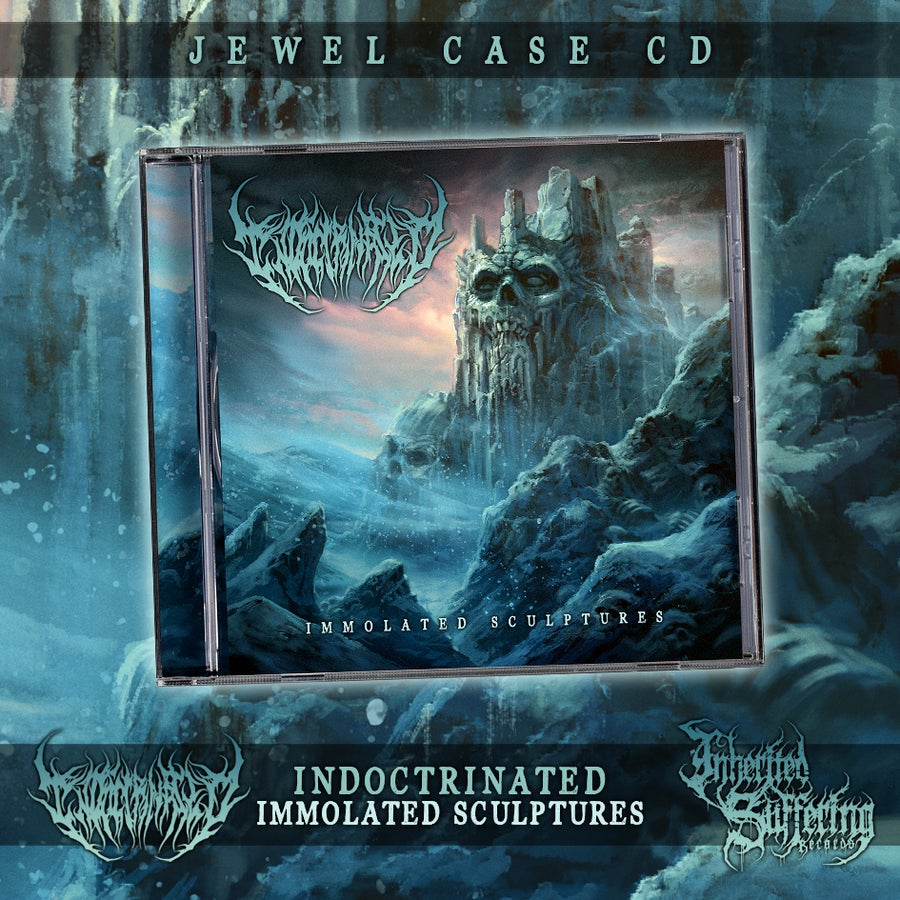 Image of Indoctrinated - Immolated Sculptures - Jewel Case CD