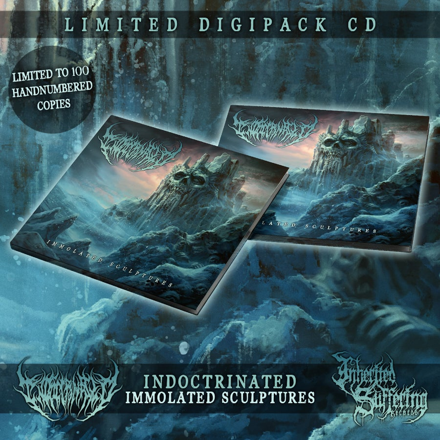 Image of Indoctrinated - Immolated Sculptures - Limited Digipack CD