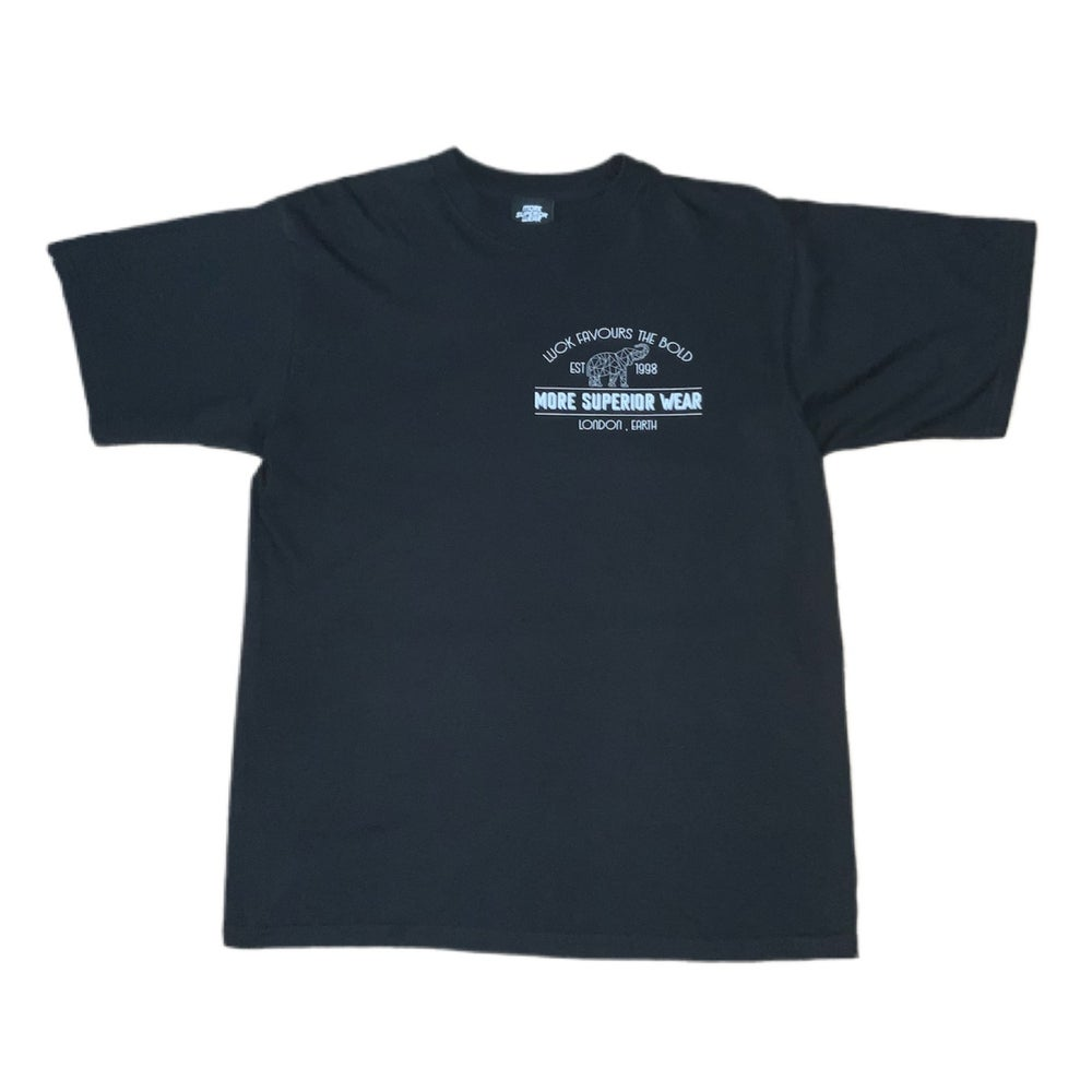 Luck favours the bold logo t-shirt