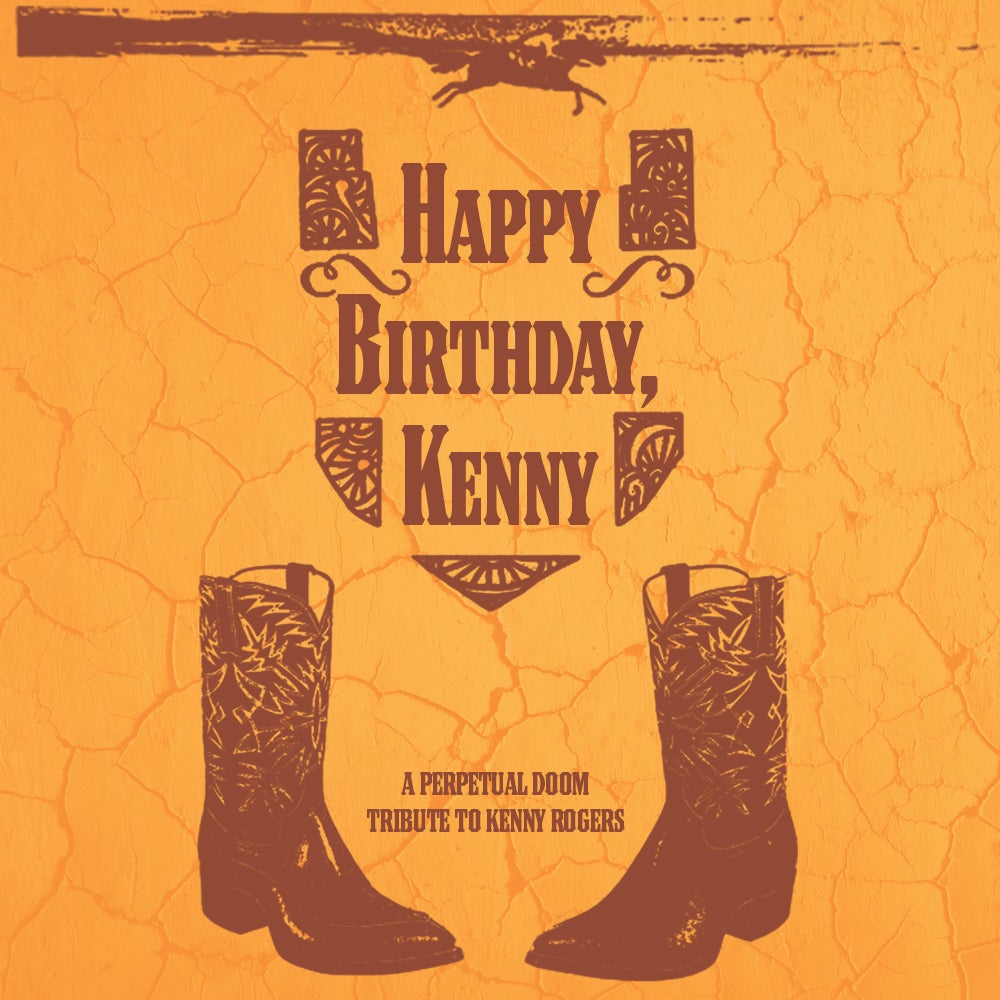 """""""Happy Birthday, Kenny: A Tribute to Kenny Rogers"""" Cassette by Various Artists"""