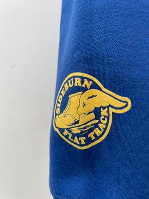 Image of Flat Track Crewneck Sweat - Royal Blue