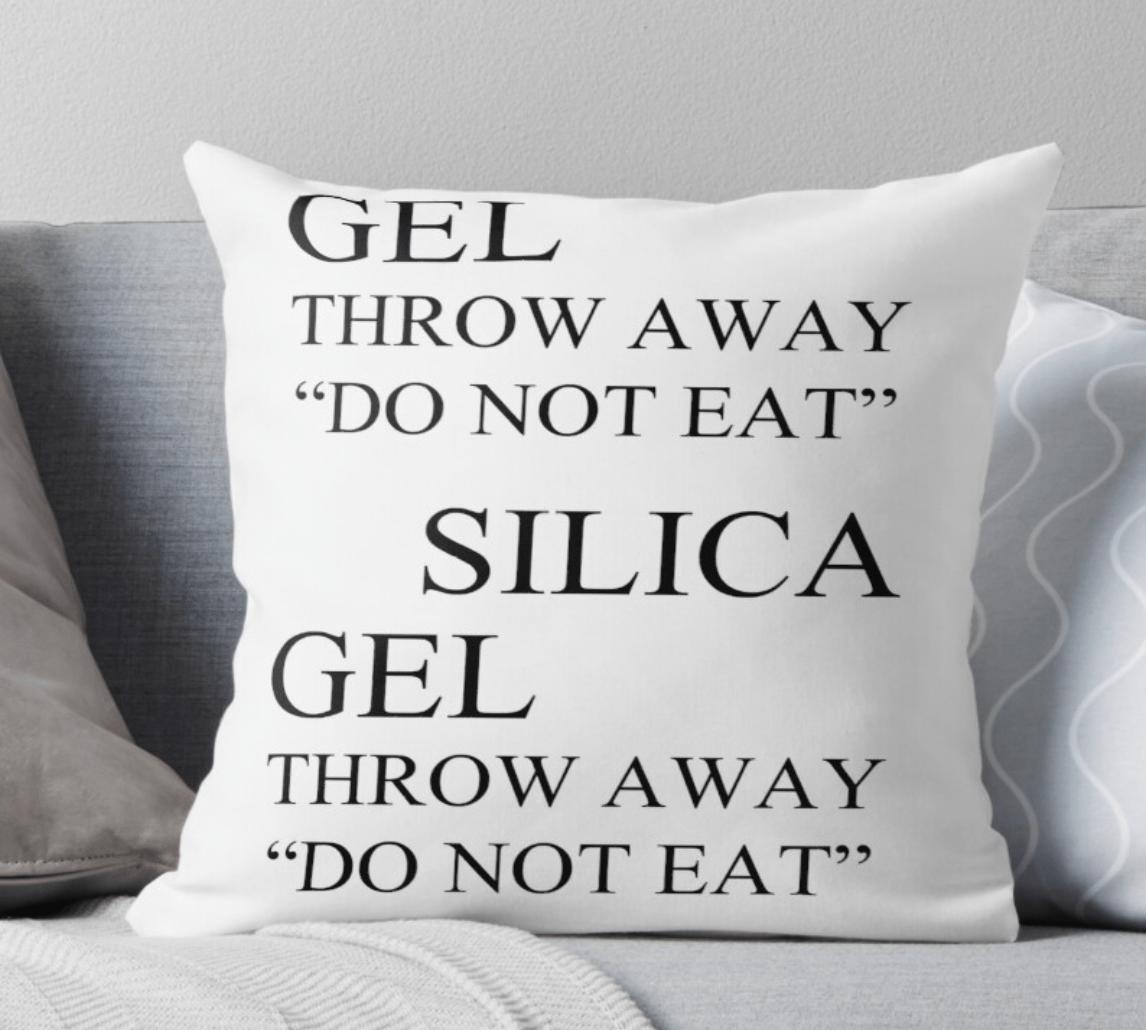 Silica Gel Pillow