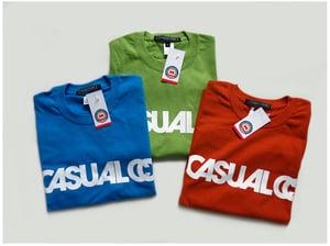Image of 'CASUALCO' LOGO TEE