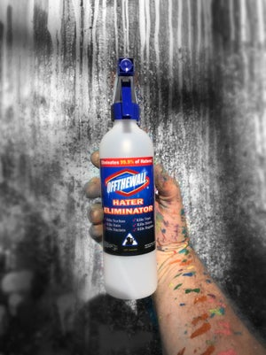 Image of Hater eliminator spray bottle