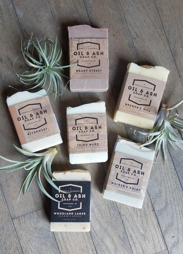 Image of Oil & Ash 4.5 oz Natural Bar Soap