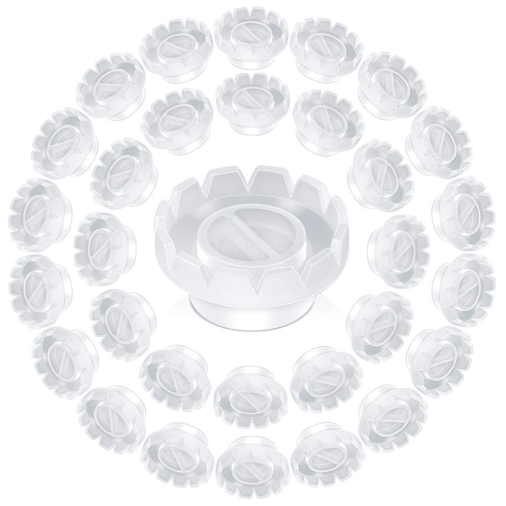 Image of Blooming Glue Cups White/Pink (100pcs)