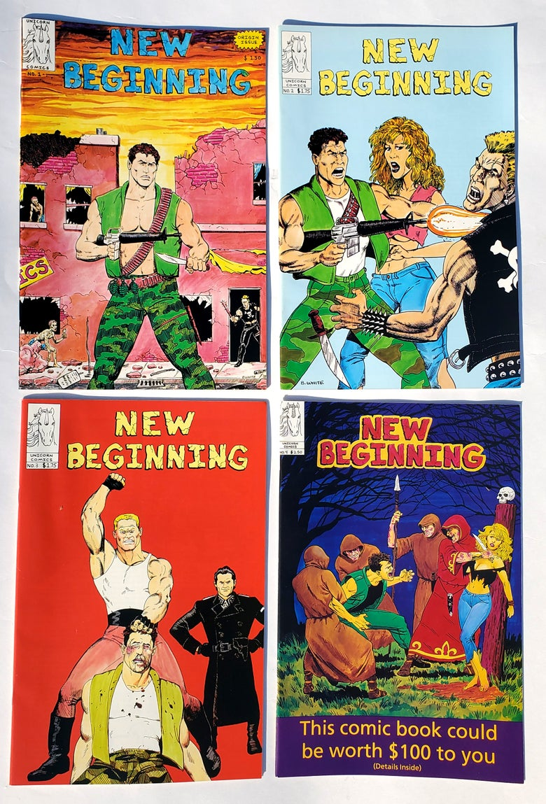 Image of New Beginning #1-4 by Terry Kalkanian & Bruce White