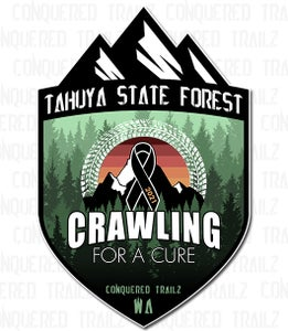 Image of Crawling for a Cure - Support Badge