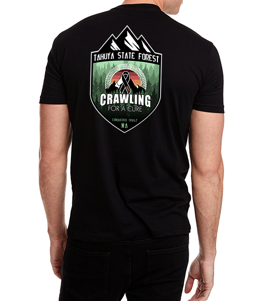 Image of Crawling for a Cure - 2021 Event Tee