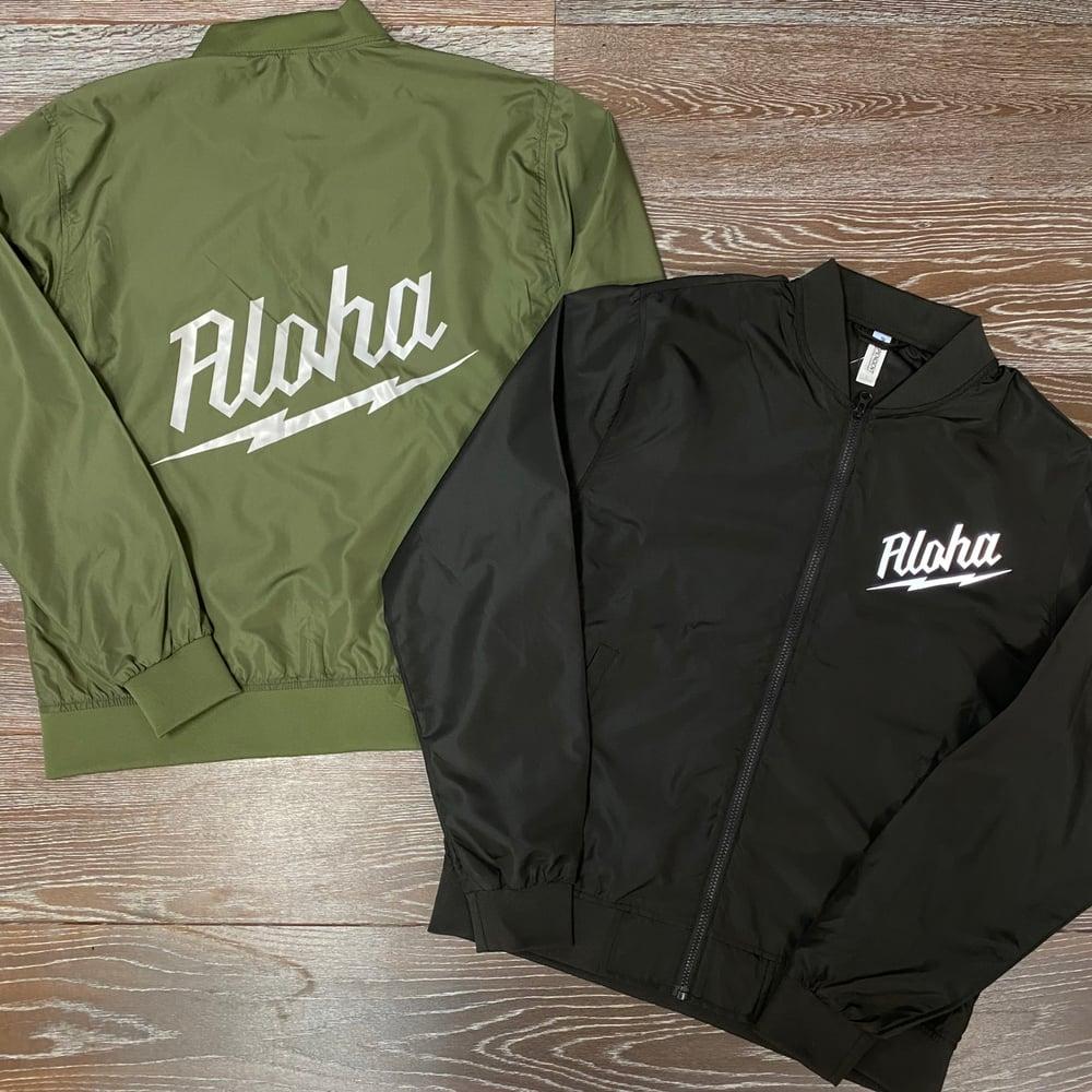 Image of Aloha Waukee Men's Bomber Jacket