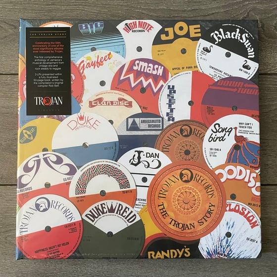 Image of The Trojan Story (Box) Vinyl 3xLP