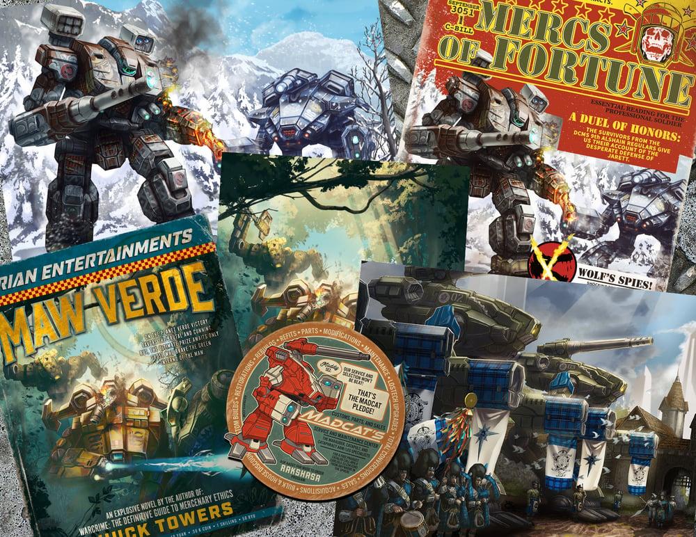 Image of Marauder print pack!