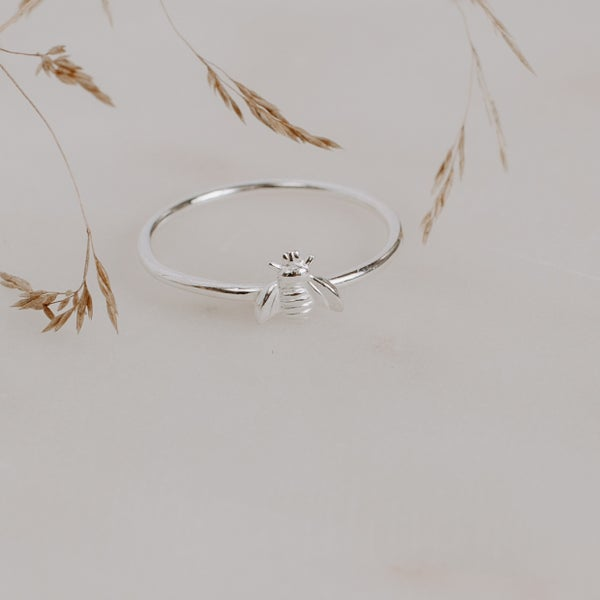 Image of Bee Stacking Ring