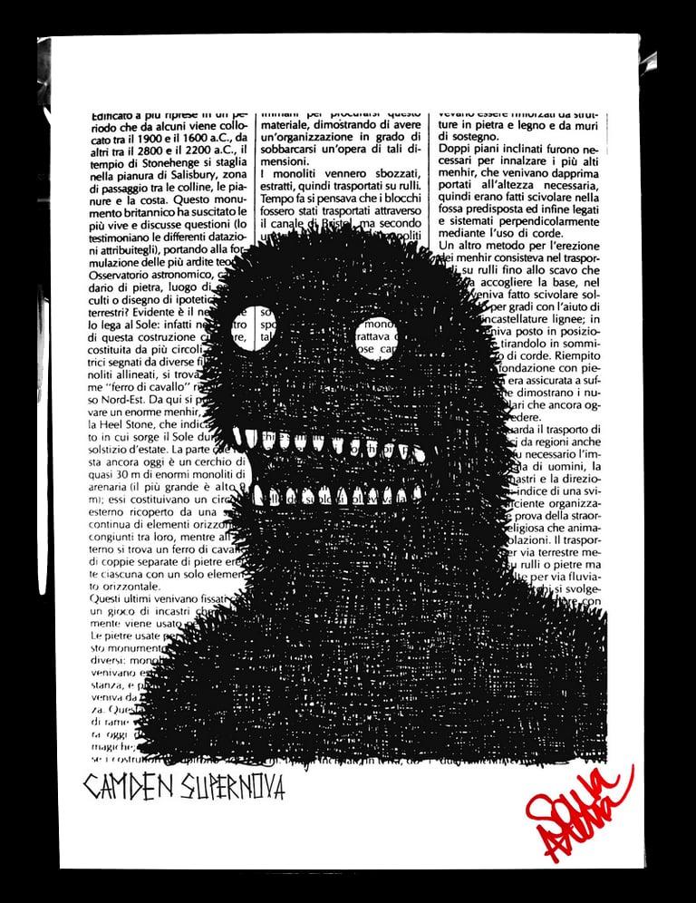 Image of Newspaper print