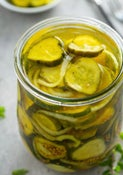 Image of Bread & Butter Pickles 16oz pint