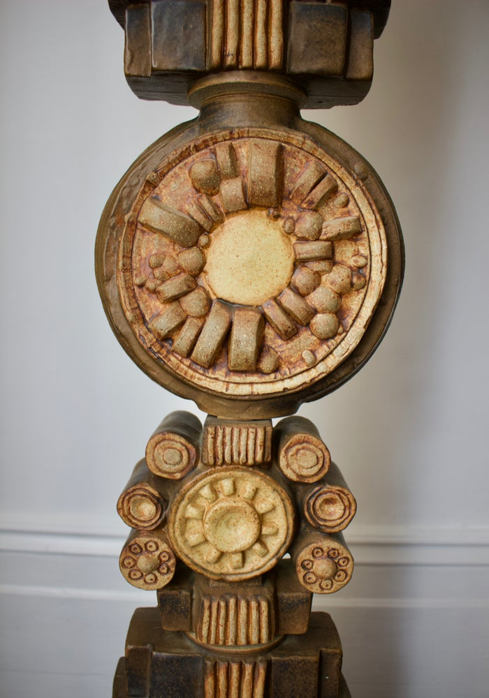 Image of Rooke Floor Totem with Original Shade