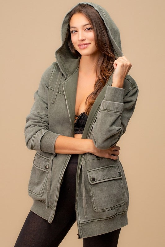 Image of Cargo Jacket  - TWO COLORS