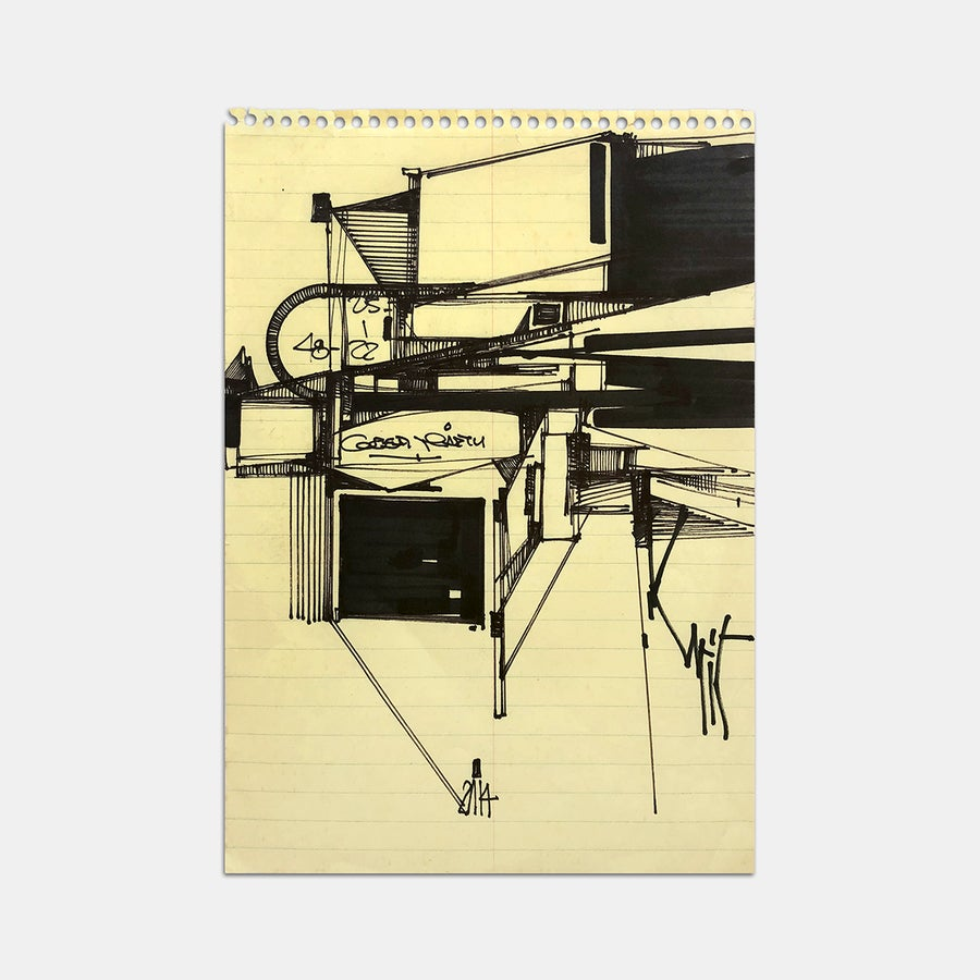 Image of AUGUSTINE KOFIE - Sketch No 35