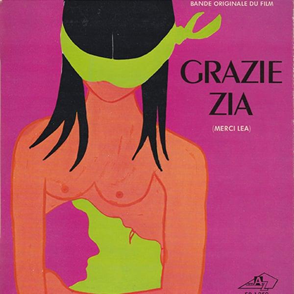 """Ennio Morricone - Grazie Zia 7"""" EP (Disc'Az - 1969)"""